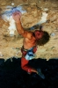 "Konrad Schlenkrich from Germany on ""Magio colibri"" 8b in Chonta. (c) elliott"