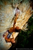Adam Karpierz  from Poland sending Tennessee 8b in Gorges du Tarn. Gorges du Tarn is a beautiful valley with loads of excellent routes in all styles, definitely worth a visit! (c) Wojciech Kozakiewicz